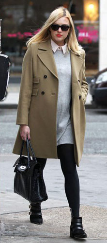 grayl-dress-white-collared-shirt-tan-jacket-coat-black-shoe-booties-black-bag-black-tights-sun-sweater-layer-wear-style-fashion-fall-winter-fearnecotton-blonde-work.jpg