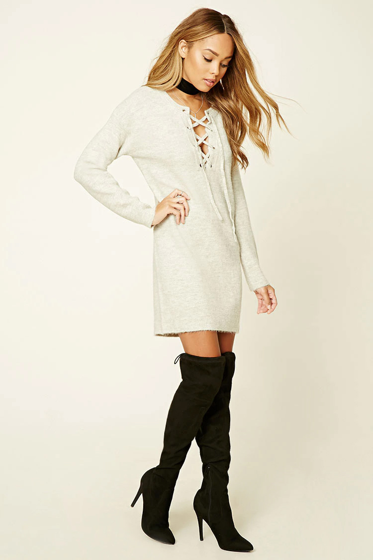 grayl-dress-black-shoe-boots-sweater-wear-style-fashion-fall-winter-tie-choker-forever21-outfit-hairr-dinner.jpg