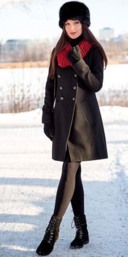 black-dress-black-jacket-coat-red-scarf-hat-black-shoe-booties-black-tights-sweater-wear-style-fashion-fall-winter-brunette-dinner.jpg
