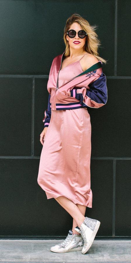 pink-light-dress-slip-pink-light-jacket-bomber-white-shoe-sneakers-spring-summer-blonde-weekend.jpg