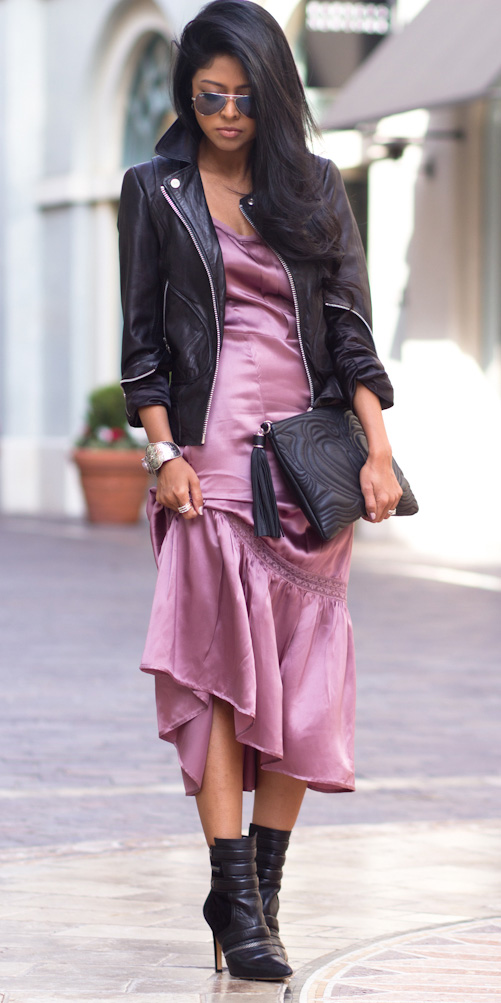 pink-light-dress-slip-silk-black-jacket-moto-black-shoe-booties-sun-howtowear-fall-winter-brun-dinner.jpg