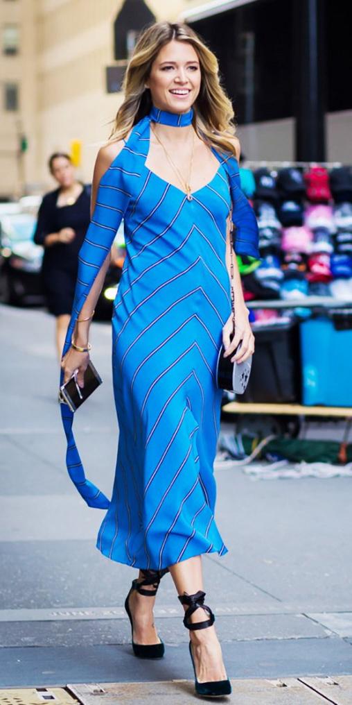 blue-med-dress-black-shoe-pumps-slip-wear-midi-style-fashion-spring-summer-blue-med-scarf-skinny-blonde-dinner.jpg