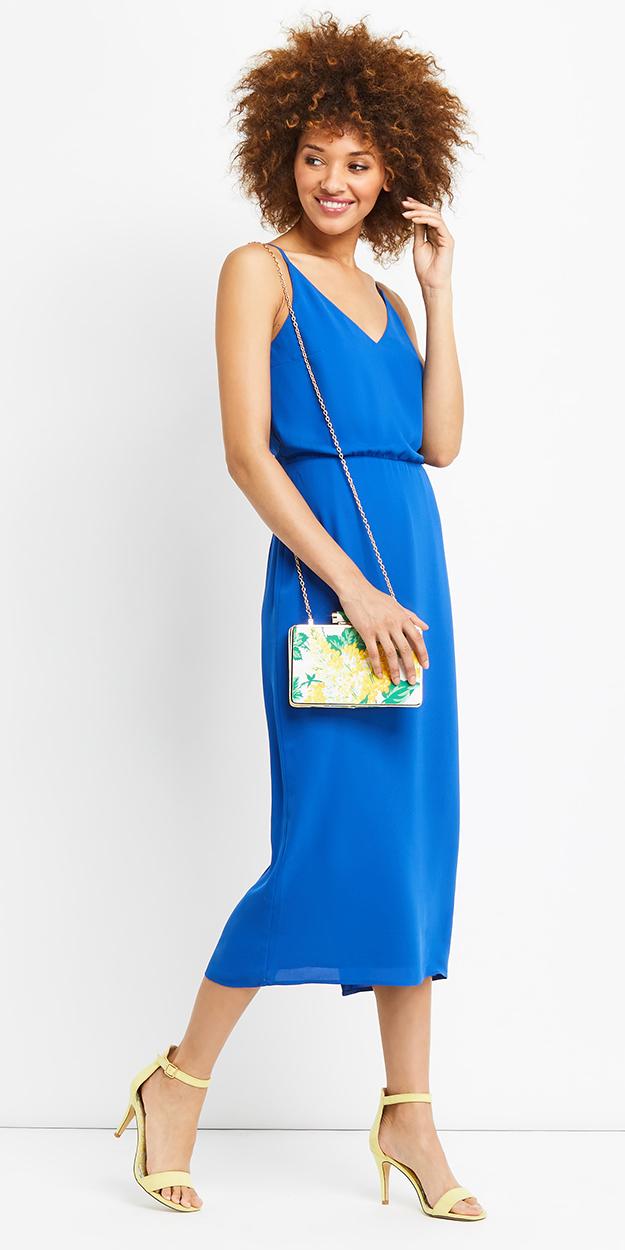 blue-med-dress-slip-yellow-shoe-sandalh-yellow-bag-brun-cobalt-spring-summer-dinner.jpg
