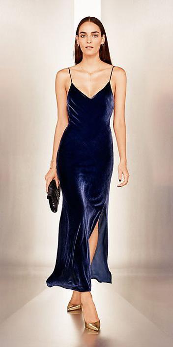 blue-navy-dress-slip-velvet-tan-shoe-pumps-gold-howtowear-fall-winter-hairr-dinner.jpg