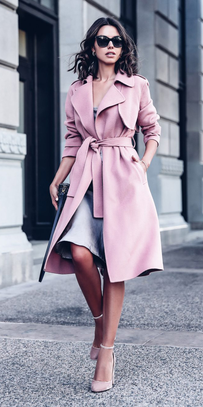 grayl-dress-slip-brun-sun-pink-light-jacket-coat-trench-spring-summer-dinner.jpeg