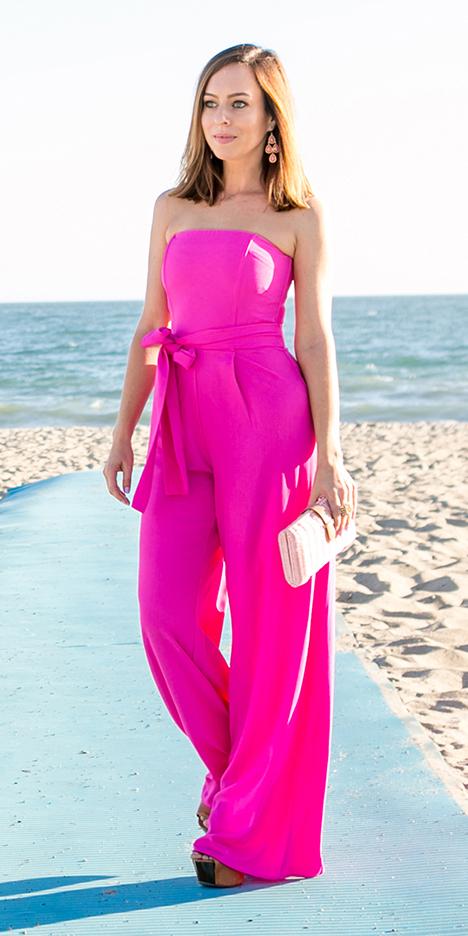 pink-magenta-jumpsuit-pink-bag-clutch-earrings-wedding-strapless-howtowear-spring-summer-hairr-dinner.jpg