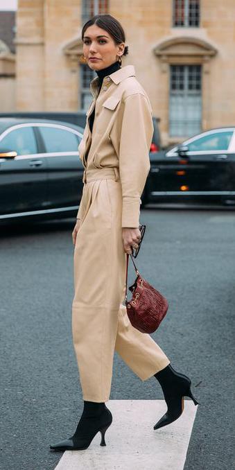 tan-jumpsuit-hairr-hoops-bun-burgundy-bag-black-shoe-boots-fall-winter-lunch.jpg