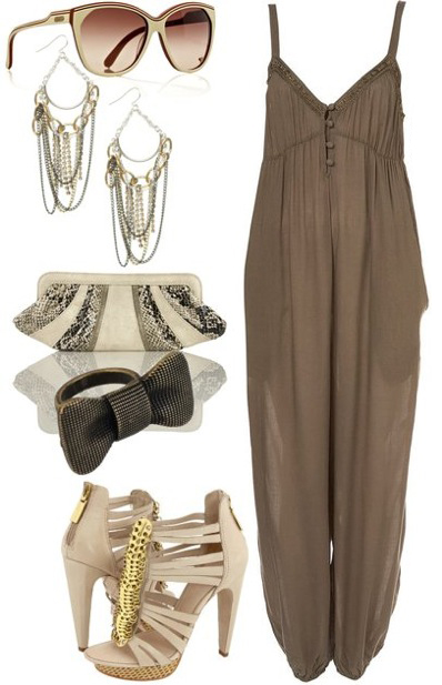 green-olive-jumpsuit-tan-shoe-sandalh-tan-bag-clutch-earrings-sun-howtowear-fashion-style-outfit-spring-summer-dinner.jpg