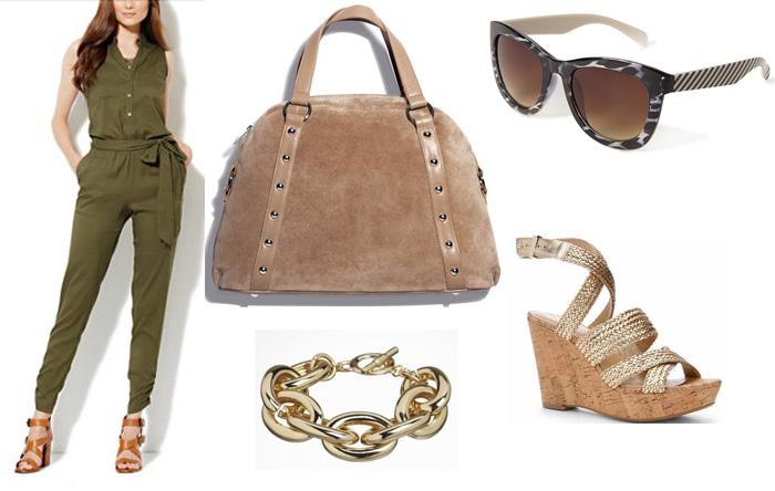 green-olive-jumpsuit-tan-shoe-sandalw-bracelet-tan-bag-hand-howtowear-fashion-style-outfit-spring-summer-wedge-bracelet-sun-casual-lunch.jpg