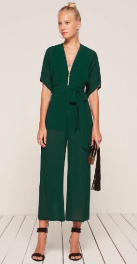 green-dark-jumpsuit-hoops-bun-black-shoe-sandalh-howtowear-spring-summer-blonde-dinner.jpg