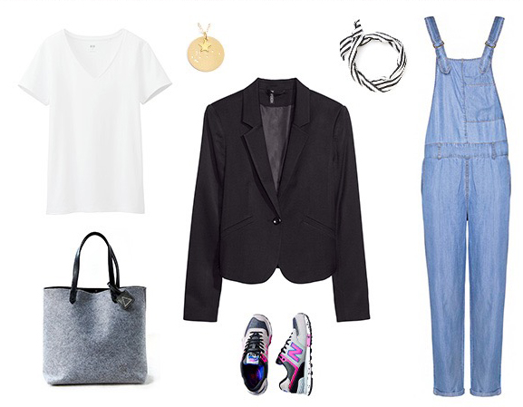 blue-light-jumpsuit-white-tee-black-jacket-blazer-necklace-pend-gray-bag-tote-gray-shoe-sneakers-denim-overalls-white-scarf-neck-howtowear-fashion-style-spring-summer-outfit-weekend.jpg