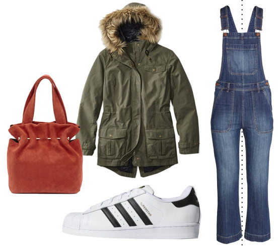 blue-med-jumpsuit-green-olive-jacket-coat-parka-white-shoe-sneakers-red-bag-overall-howtowear-fashion-style-outfit-fall-winter-weekend.jpg