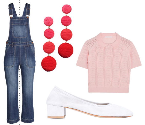 blue-med-jumpsuit-pink-light-sweater-red-earrings-white-shoe-flats-fashion-style-outfit-spring-summer-lunch.jpg