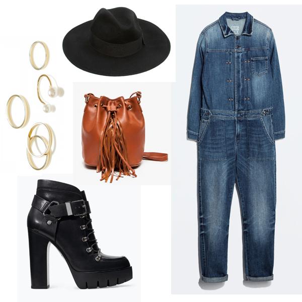 blue-med-jumpsuit-black-shoe-booties-cognac-bag-hat-rings-howtowear-fall-winter-lunch.jpg