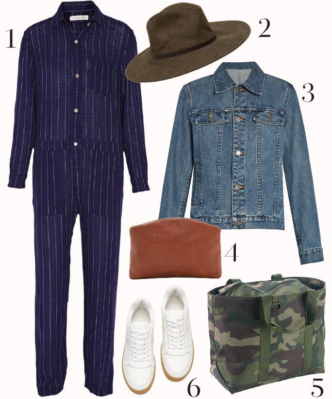 blue-navy-jumpsuit-blue-med-jacket-jean-white-shoe-sneakers-green-bag-howtowear-fashion-style-outfit-fall-winter-pinstripe-longsleeve-hat-lunch.jpg