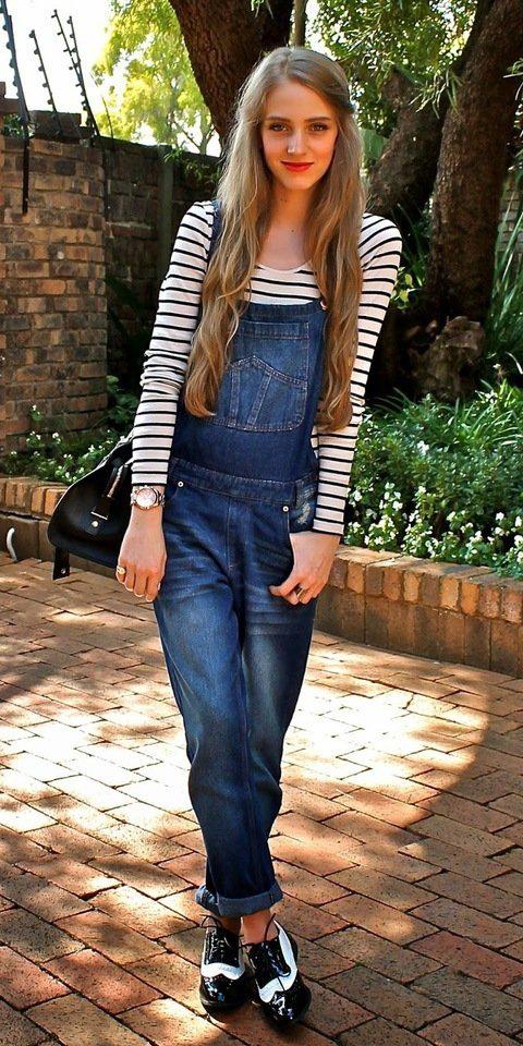 blue-navy-jumpsuit-black-tee-stripe-white-shoe-brogues-watch-black-bag-blonde-fall-winter-weekend.jpg