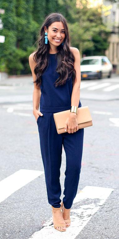 blue-navy-jumpsuit-earrings-tan-bag-clutch-tan-shoe-sandalh-howtowear-spring-summer-brun-dinner.jpg