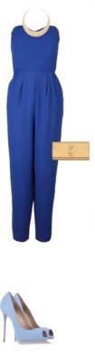 blue-navy-jumpsuit-blue-shoe-pumps-bib-necklace-cobalt-tan-bag-clutch-howtowear-fashion-style-outfit-spring-summer-dinner.jpg