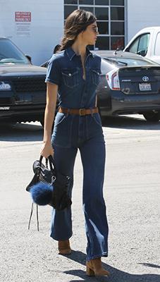 blue-navy-jumpsuit-cognac-shoe-booties-sun-pony-black-bag-hand-spring-summer-wear-fashion-style-denim-belt-kendalljenner-celebrity-lunch.jpg