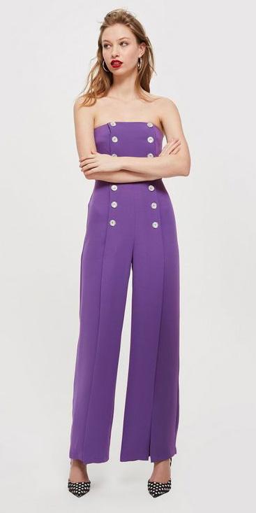 purple-royal-jumpsuit-blonde-hoops-black-shoe-pumps-fall-winter-dinner.jpg