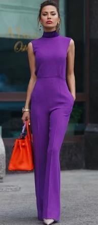 purple-royal-jumpsuit-orange-bag-bun-howtowear-spring-summer-hairr-lunch.jpg