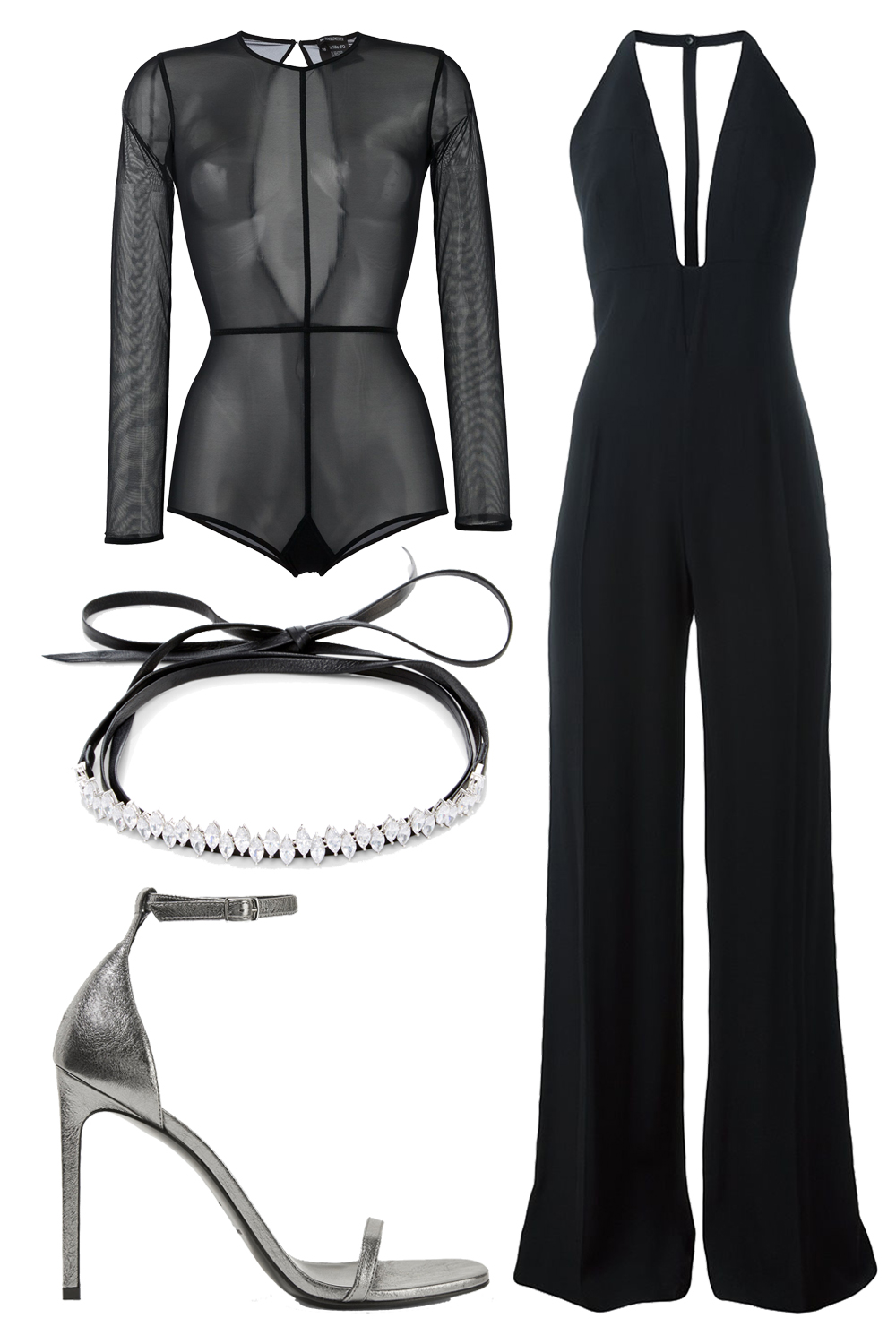 what-to-wear-for-a-winter-wedding-guest-outfit-black-top-bodysuit-sheer-layer-black-jumpsuit-gray-shoe-sandalh-dinner.jpg