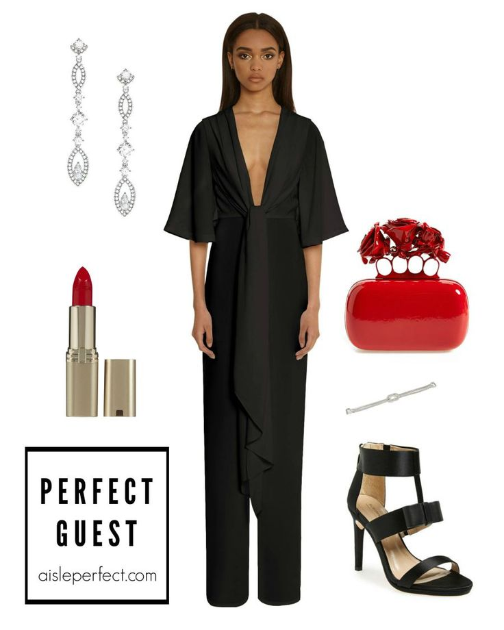 what-to-wear-for-a-winter-wedding-guest-outfit-black-jumpsuit-red-bag-clutch-black-shoe-sandalh-earrings-dinner.jpg