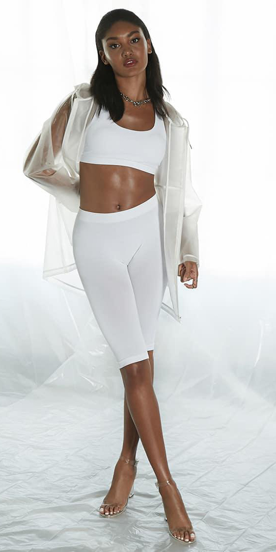white-shorts-cycling-bike-mono-white-bralette-clear-jacket-rain-necklace-brun-clear-shoe-sandalh-spring-summer-lunch.jpeg