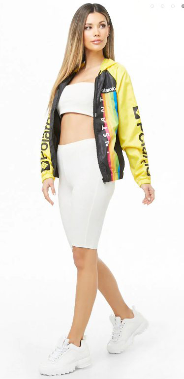 white-shorts-cycling-bike-yellow-jacket-bomber-graphic-hairr-white-shoe-sneakers-white-bralette-spring-summer-polaroid-weekend.jpg