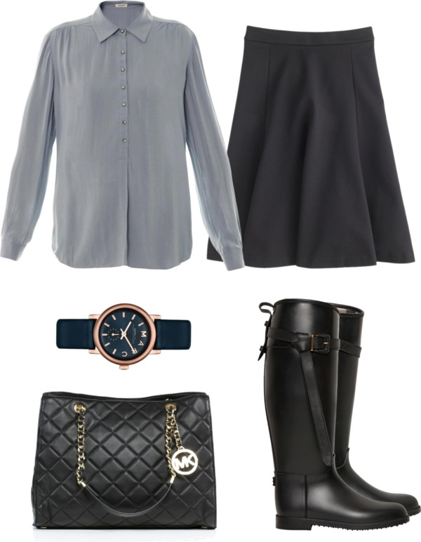 black-aline-skirt-grayl-top-blouse-watch-black-bag-black-shoe-boots-fall-winter-work.jpg