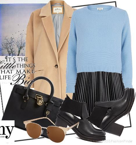 black-aline-skirt-blue-light-sweater-tan-jacket-coat-black-shoe-booties-sun-black-bag-pleat-howtowear-fashion-style-outfit-fall-winter-classic-work.jpg