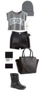 black-shorts-grayl-graphic-tee-black-tights-black-shoe-booties-beanie-fall-winter-weekend.jpg