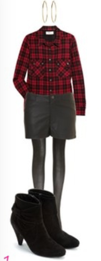 black-shorts-red-plaid-shirt-howtowear-fashion-style-outfit-fall-winter-leather-hoops-black-tights-black-shoe-booties-lunch.jpg