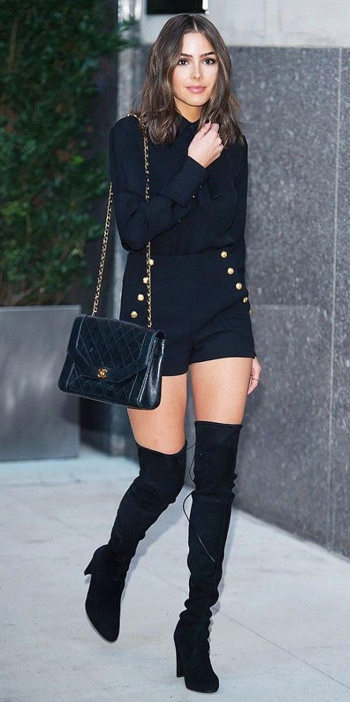 black-shorts-mono-hairr-lob-black-blouse-black-bag-black-shoe-boots-otk-oliviaculpo-fall-winter-dinner.jpg