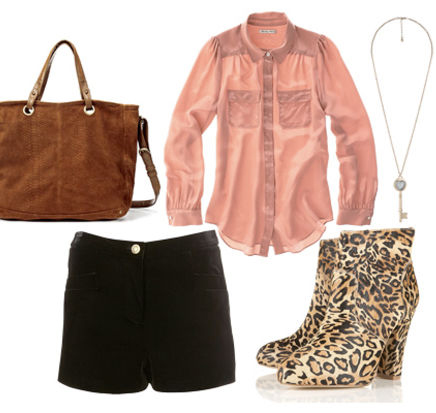black-shorts-r-pink-light-top-blouse-howtowear-fashion-style-outfit-fall-winter-leopard-tan-shoe-booties-cognac-bag-necklace-lunch.jpg