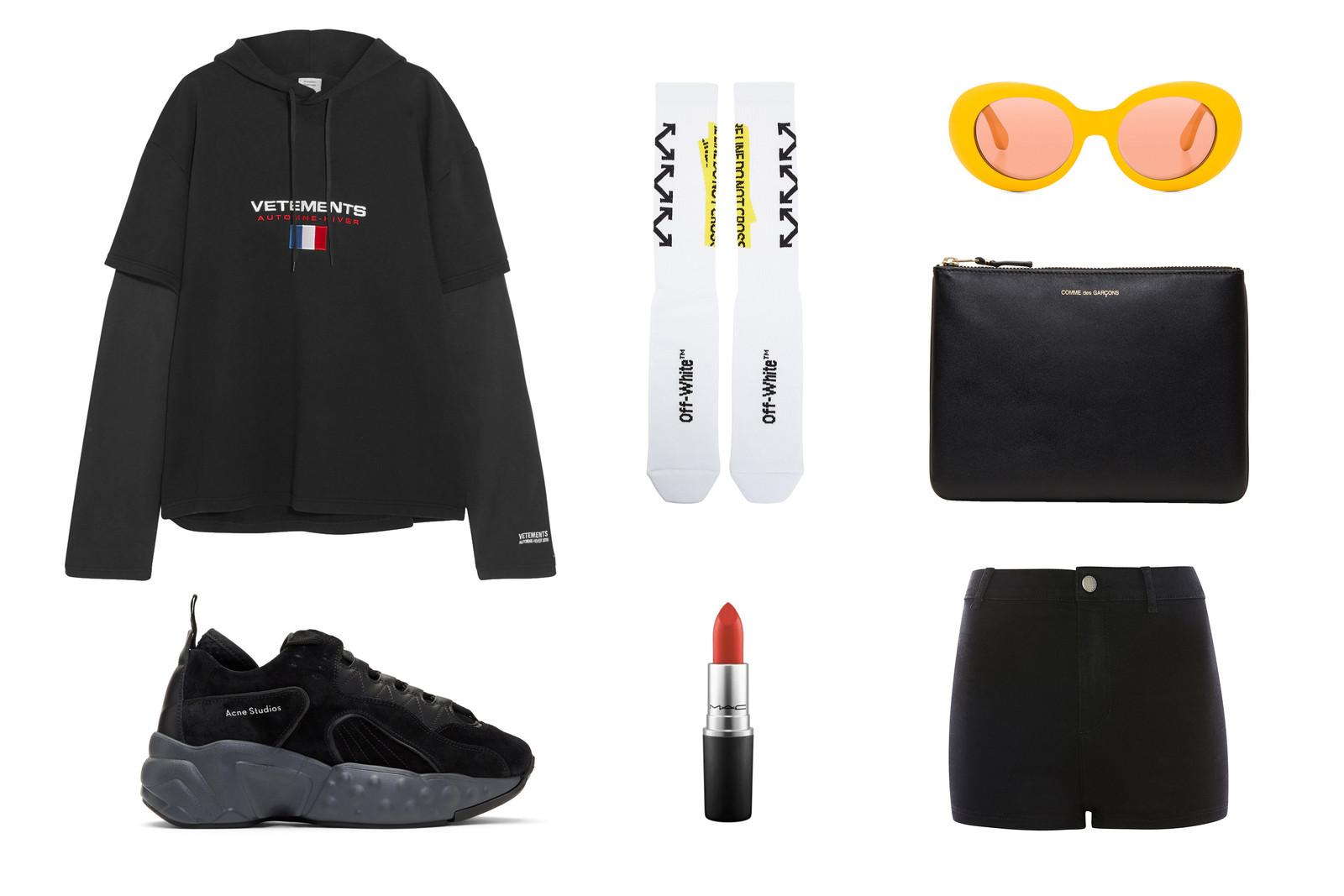 black-shorts-black-sweater-sweatshirt-hoodie-socks-black-shoe-sneakers-sun-fall-winter-weekend.jpg