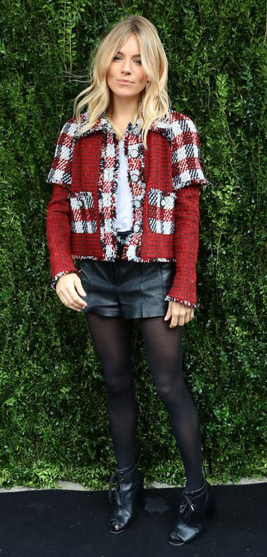 black-shorts-white-tee-red-jacket-tweed-leather-black-tights-black-shoe-booties-blonde-howtowear-fashion-style-outfit-fall-winter-holiday-siennamiller-dinner.jpg