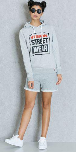 grayl-shorts-grayl-sweater-sweatshirt-brun-buns-sun-white-shoe-sneakers-spring-summer-weekend.jpg