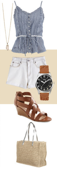 white-shorts-blue-light-cami-ruffle-howtowear-fashion-style-outfit-spring-summer-tan-bag-watch-cognac-shoe-sandalw-necklace-pend-denim-weekend.jpg