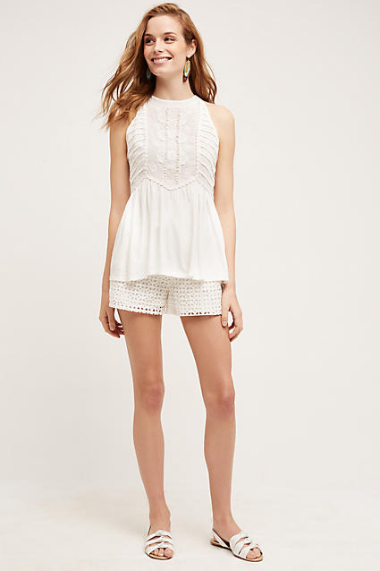 white-shorts-white-top-peplum-eyelet-earrings-white-shoe-sandals-howtowear-fashion-style-outfit-spring-summer-hairr-lunch.jpg