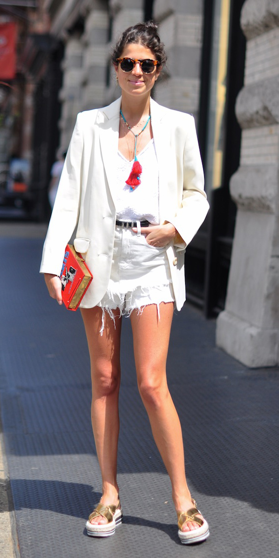 white-shorts-cutoff-white-tee-mono-belt-necklace-sun-tan-shoe-sandals-white-jacket-blazer-spring-summer-brun-weekend.jpg