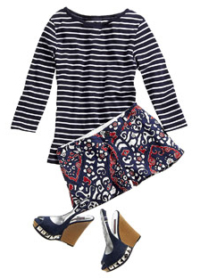 blue-navy-shorts-blue-navy-tee-stripe-howtowear-fashion-style-outfit-spring-summer-blue-shoe-sandalw-print-mix-lunch.jpg