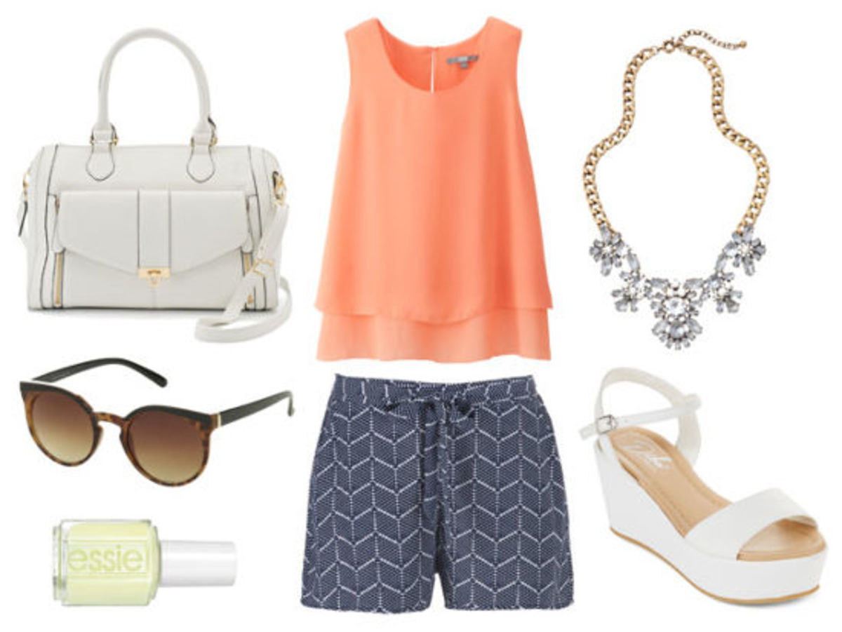 blue-navy-shorts-print-orange-top-bib-necklace-white-shoe-sandalw-white-bag-sun-nail-howtowear-fashion-style-outfit-spring-summer-lunch.jpg