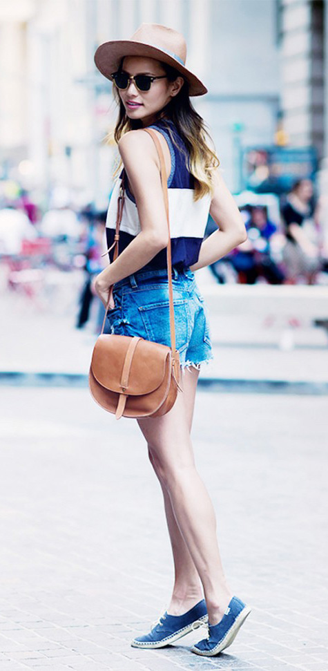 blue-med-shorts-blue-navy-top-bold-stripe-sun-hat-cognac-bag-blue-shoe-sneakers-denim-cutoff-jamiechung-howtowear-fashion-style-spring-summer-outfit-hairr-weekend.jpg
