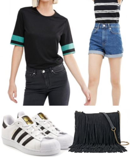 blue-med-shorts-black-top-howtowear-fashion-style-outfit-spring-summer-white-shoe-sneakers-black-bag-denim-weekend.jpg