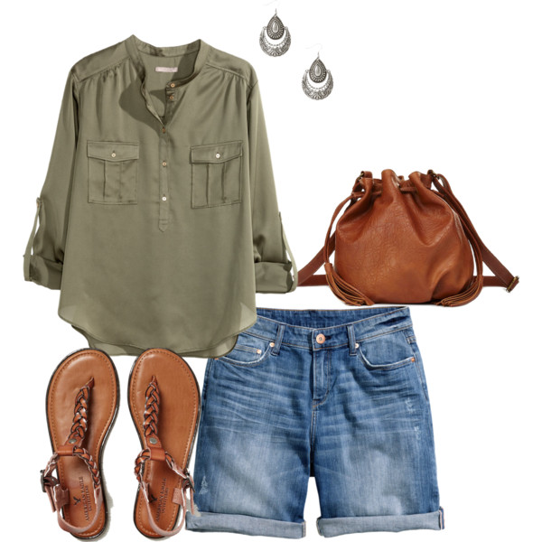 blue-med-shorts-denim-cognac-shoe-sandals-cognac-bag-earrings-green-olive-collared-shirt-spring-summer-weekend.jpg