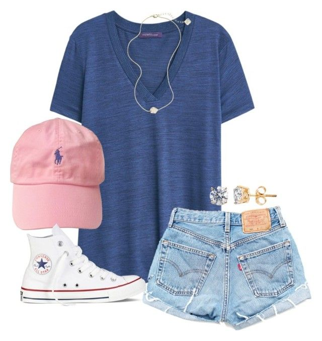 how-to-style-blue-light-shorts-denim-hat-necklace-studs-white-shoe-sneakers-blue-navy-tee-spring-summer-fashion-weekend.jpg