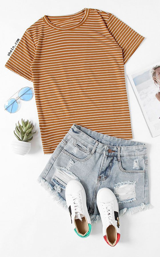 blue-light-shorts-white-shoe-sneakers-sun-camel-tee-stripe-spring-summer-weekend.jpg
