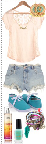 blue-light-shorts-white-tee-necklace-earrings-blue-shoe-sneakers-bracelet-nail-denim-howtowear-fashion-style-outfit-spring-summer-weekend.jpg