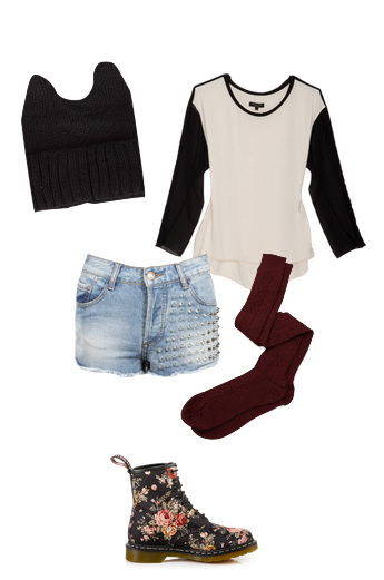 blue-light-shorts-white-tee-black-shoe-booties-baseball-howtowear-fashion-style-outfit-fall-winter-socks-denim-weekend.jpg